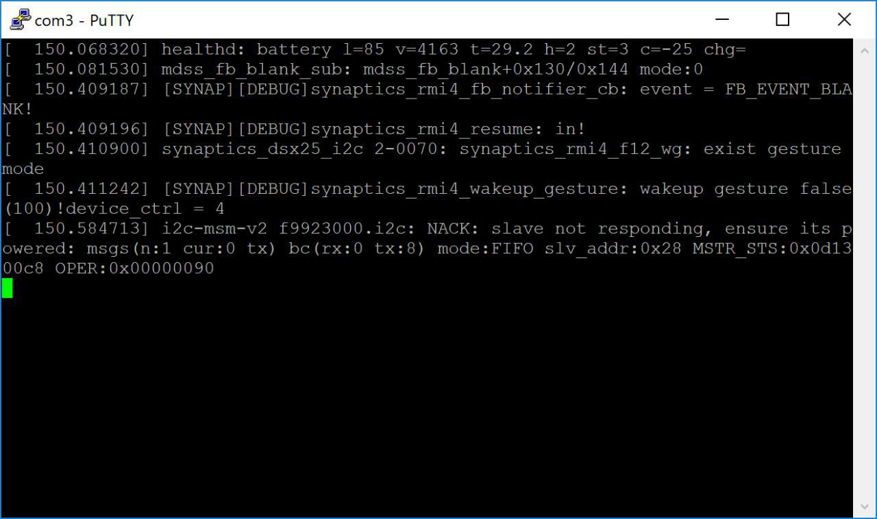 Console output!